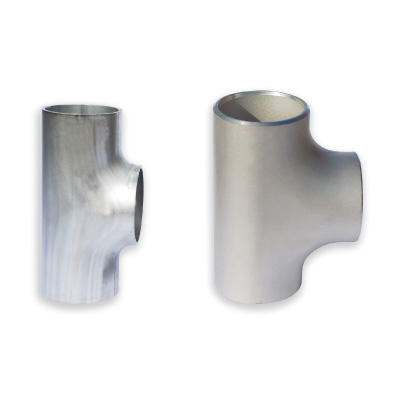 Paslanmaz Eşit Tee ASTM A 403, ANSI B 16,9 Normunda